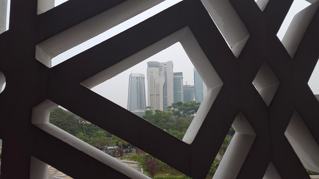 View from National Mosque of Malaysia, Kuala Lumpur