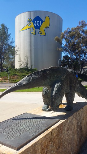 Peter the Anteater -- UC Irvine