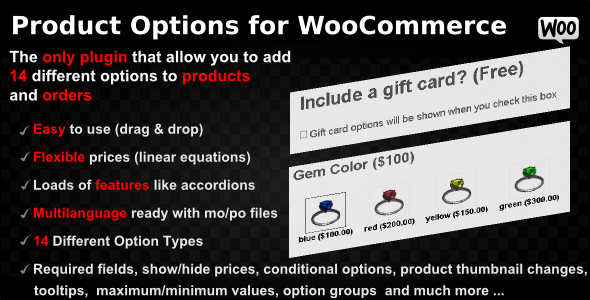 Product Options for WooCommerce v4.124 - WP Plugin