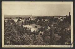 Chateaudouble (Drôme) - vue générale - Vue prise de la Richardière
