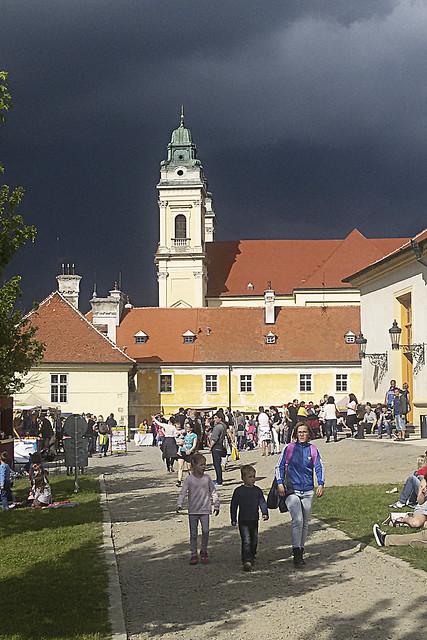 La lumière noire à Valtice. / Black light in Valtice. / Černé světlo ve Valticích.