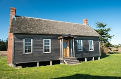historic structure at Ebey's Landing National Historical Reserve