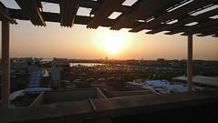 Sunset Urban Skyline Day