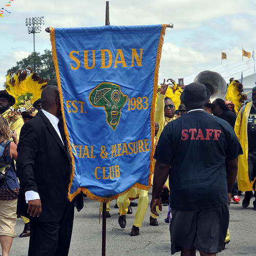 Sudan Second Line at Jazz Fest