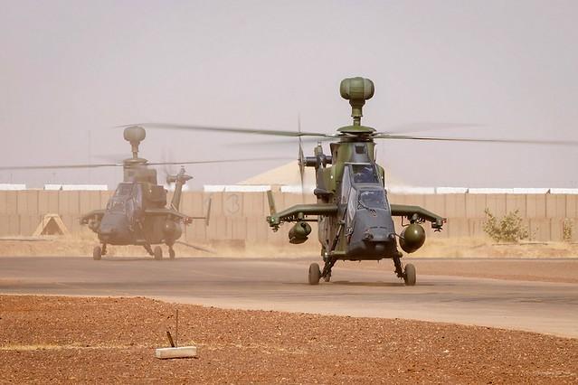 Γερμανικά ελικόπτερα Tiger στο Μάλι. Φωτογραφία: Bundeswehr