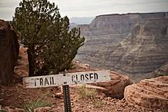 Closed Trail