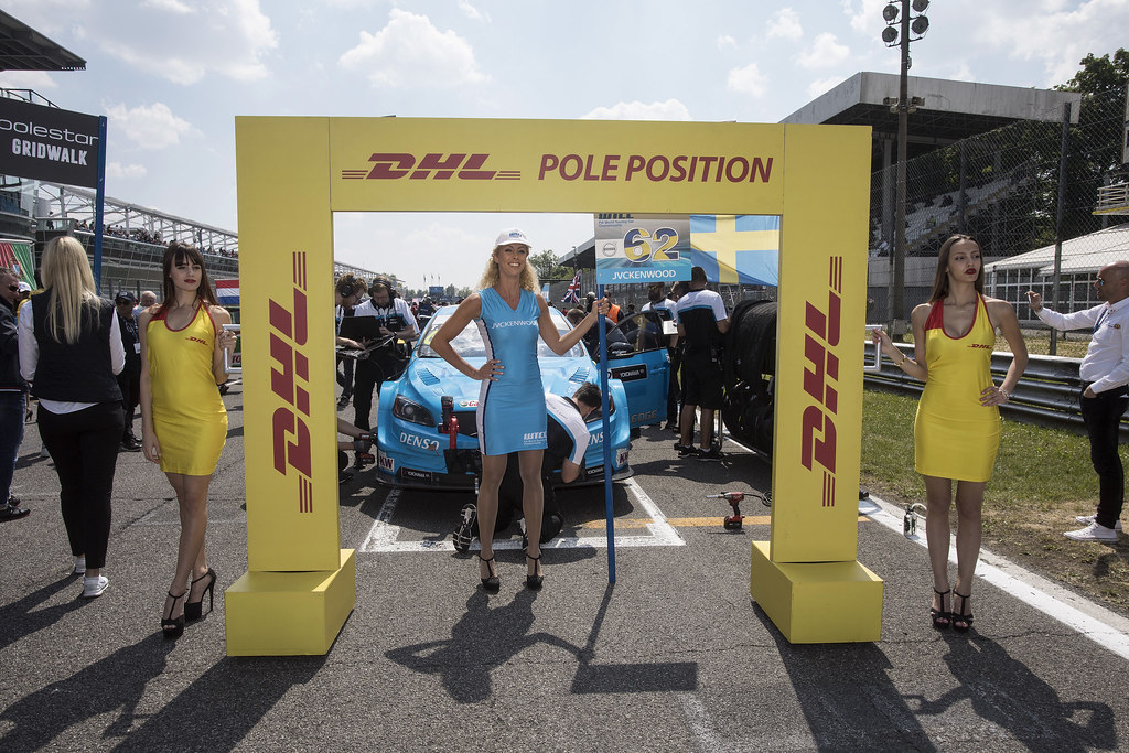 DHL pole position ambiance, during the 2017 FIA WTCC World Touring Car Race of Italy at Monza, from April 28 to 30  - Photo Gregory Lenormand / DPPI