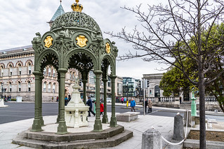 THE 1900 QUEEN VICTORIA MEMORIAL FOUNTAIN [LOCATED IN DUN LAOGHAIRE]-127202
