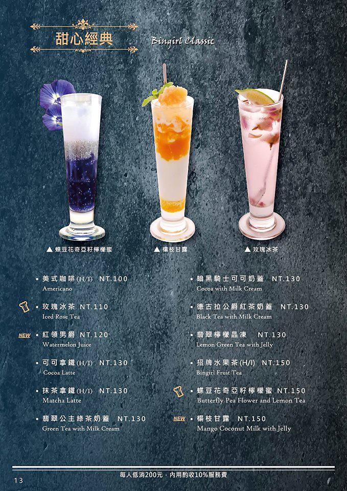 台北信義區餐廳下午茶推薦att 4 fun 冰果甜心菜單menu (5)