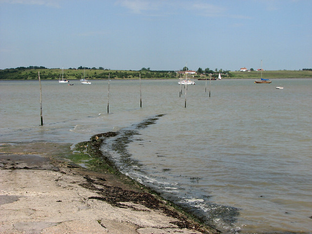 Former ferry crossing