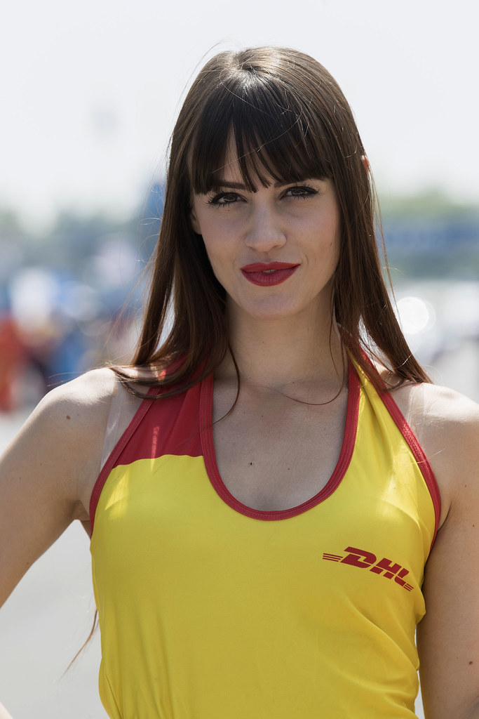 girl ambiance DHL  during the 2017 FIA WTCC World Touring Car Race of Italy at Monza, from April 28 to 30  - Photo Gregory Lenormand / DPPI