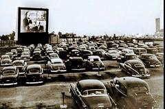 Whitestone Bridge Drive-in -- about 1953
