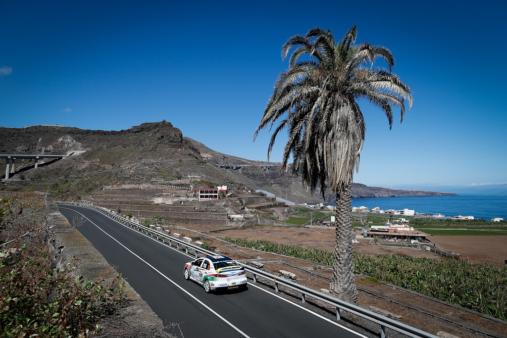 25 ERDI junior Tibor (HUN), GYORGY Papp (HUN), Mitsubishi lancer evo X, Action during the 2017 European Rally Championship ERC Rally Islas Canarias, El Corte Inglés,  from May 4 to 6, at Las Palmas, Spain - Photo Alexandre Guillaumot / DPPI