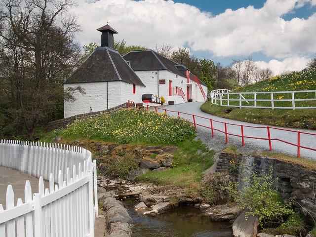 Edradour Distillery, Schottland