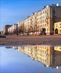 Russia. Balashikha. The houses of Rostkovsky.