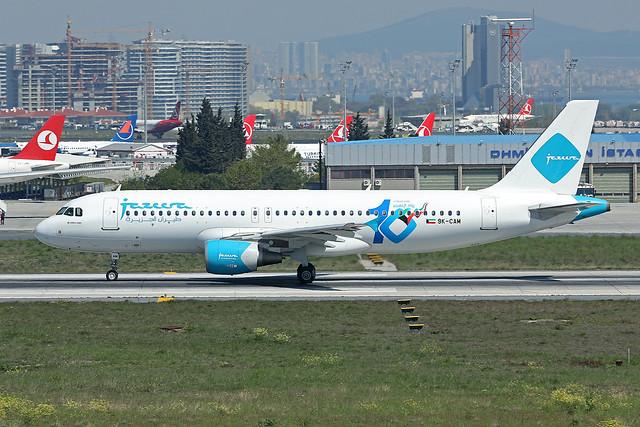 Jazeera Airways   A320-214   9K-CAM