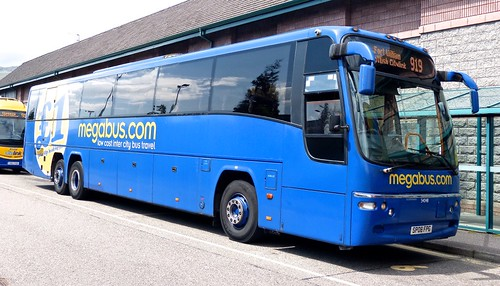 SP08 FPG 'megabus.com' 54048 Volvo  B12B / Plaxton Panther on 'Dennis Basford's railsroadsrunways.blogspot.co.uk'