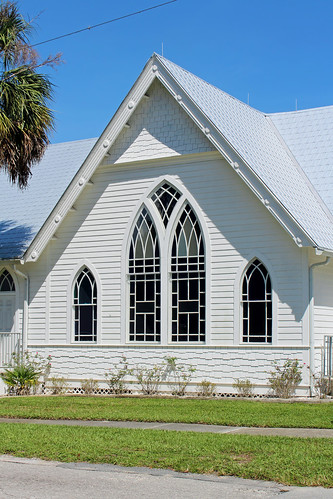 architecture church presbyterian carpentergothic gothicrevival gable dunnellon florida