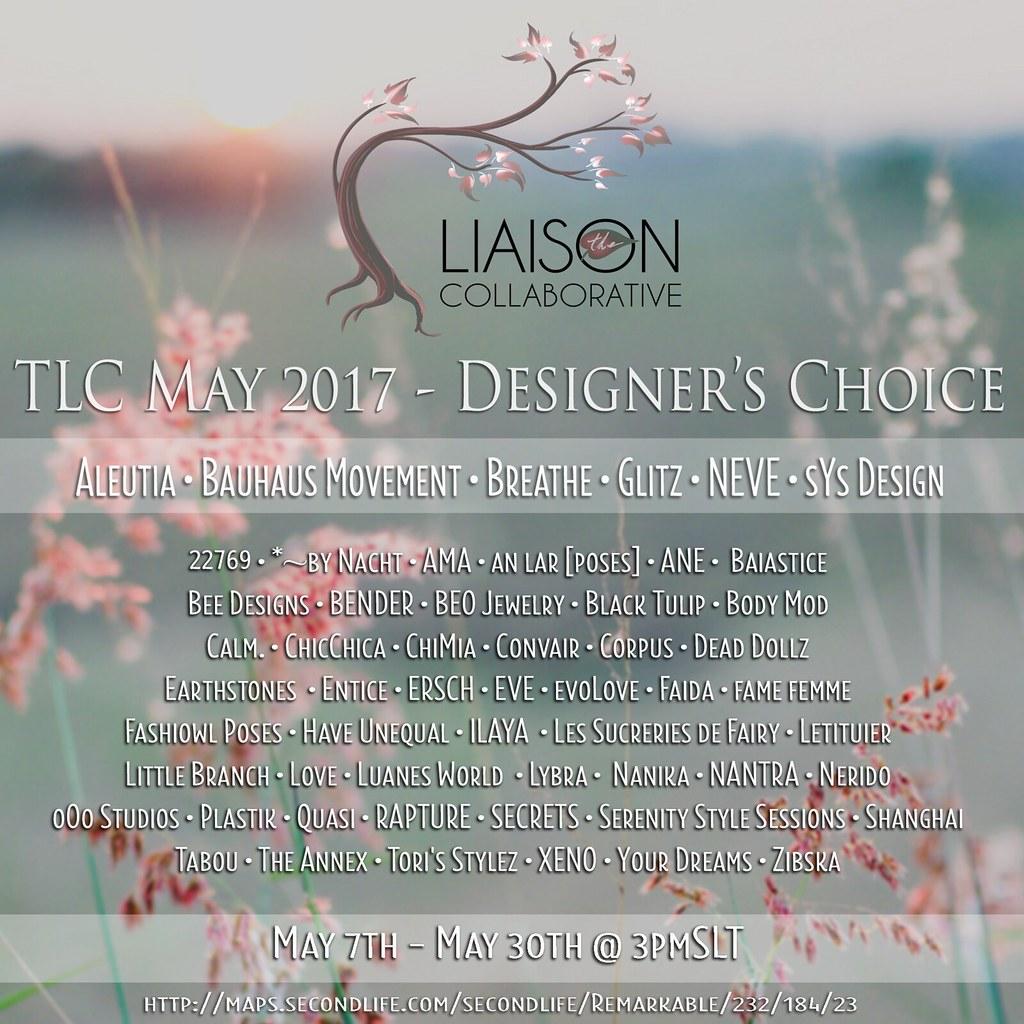 TLC May 2017 Deisgner's Choice - SecondLifeHub.com