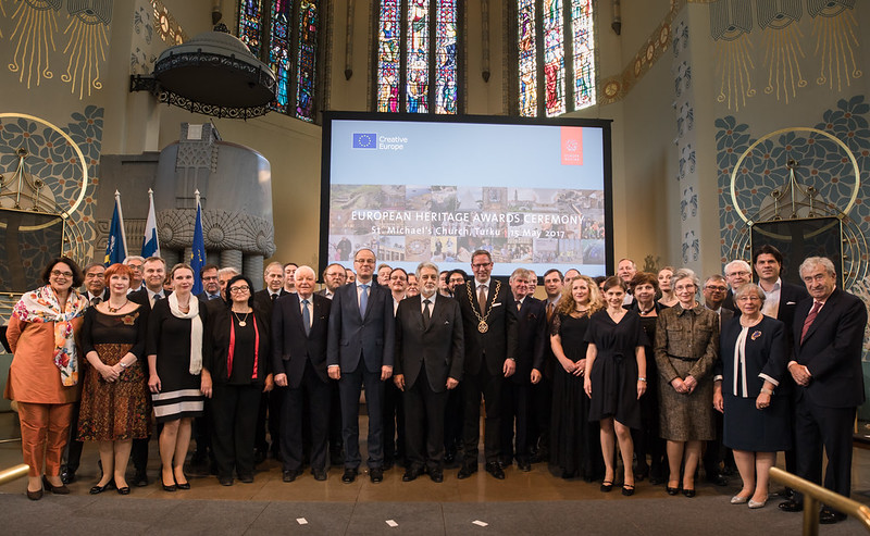 European Heritage Awards Ceremony 2017 - group photo