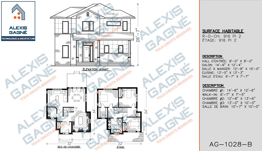 plan de maison 2 tages mm2e04