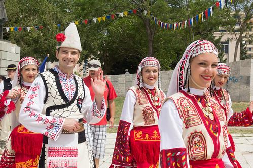 The Aulona Interfolk Festival, Durres, Albania