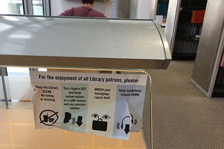 SF Public Library - Main branch Library rules
