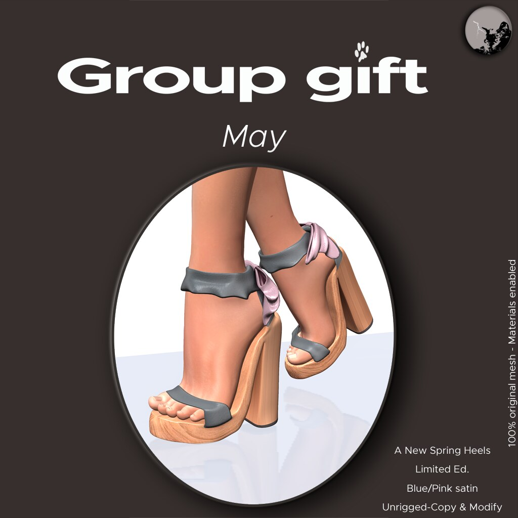 *PC* Monthly groupgift -May 17 - SecondLifeHub.com