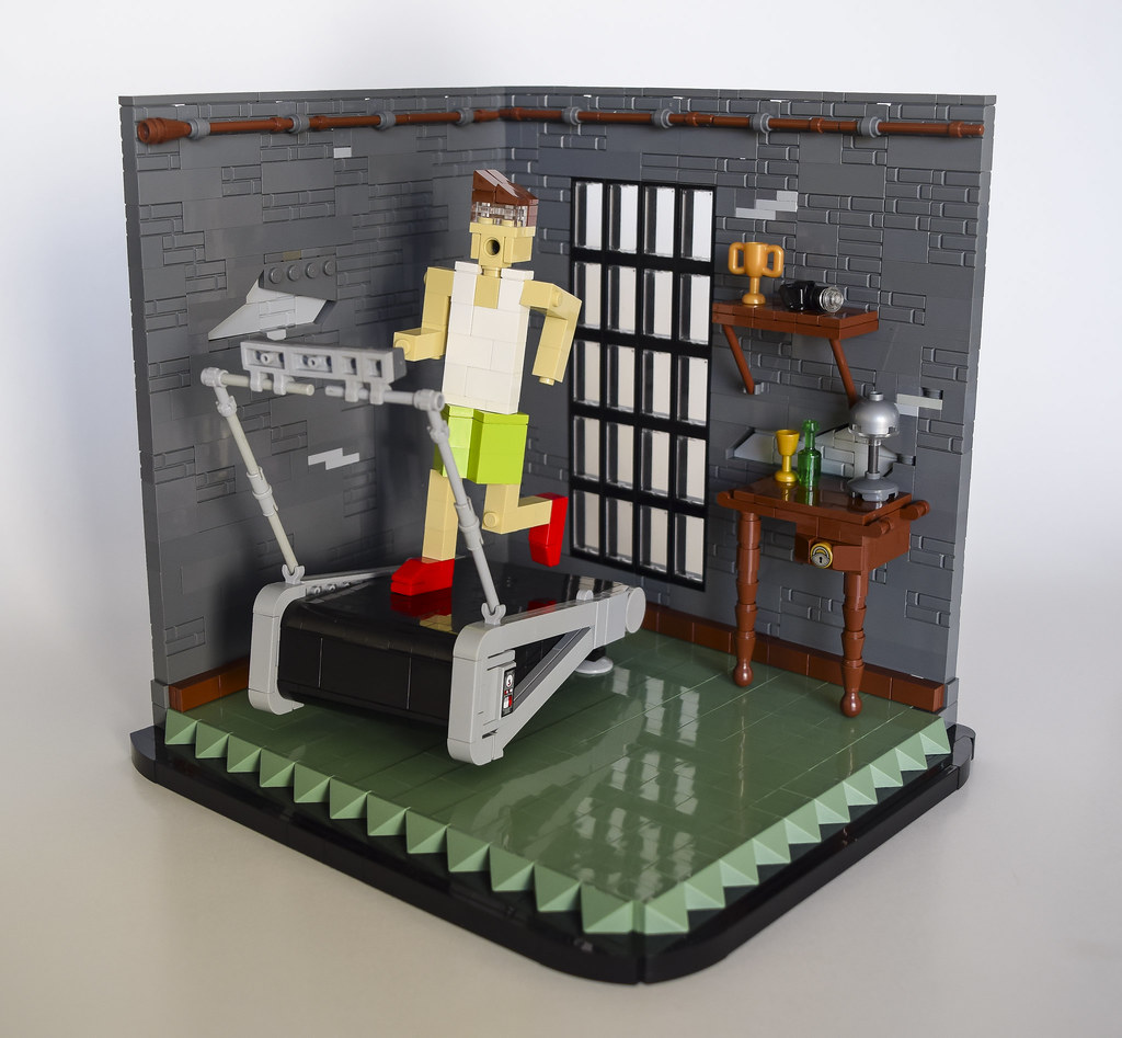 Modern Society (custom built Lego model)