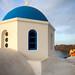 Santorini - Blue Chruch by Fieldy.