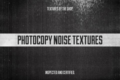 Photocopy noise texture pack - 2017 update