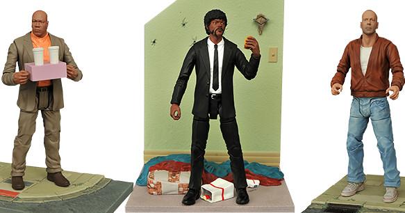 黑色幽默的極致!!Diamond Select Toys【黑色追緝令】Pulp Fiction 7吋可動人偶作品