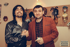 Sharing With KBN Celebrities and the Organization of the event (Рок-Tенор Игнасио Гомез Урра)