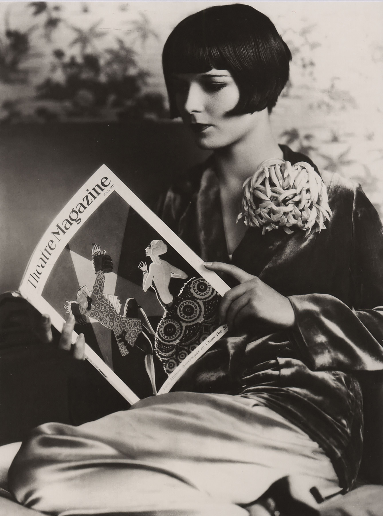 Louise Brooks. Credit Laura Loveday, flickr