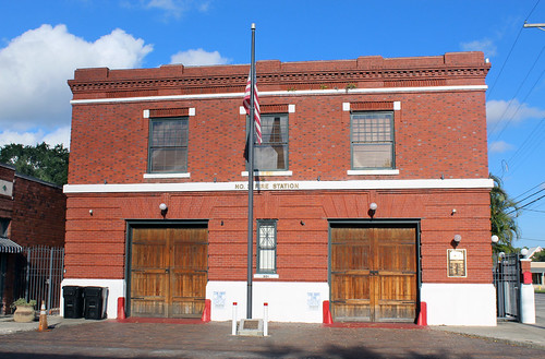 firefighting fire tampa florida fl house station