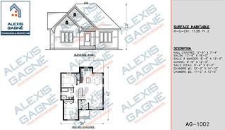 Plan de maison 1 étage - MM1e.01