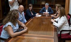 Fernando Clavijo recibe a la Asociaci�n de Ni�os Especiales de La Palma
