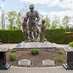 `Spirit of 9/11` Memorial Sculpture (2005) by Gregory Perillo, The Corporate Park of Staten Island, Bloomfield, New York City