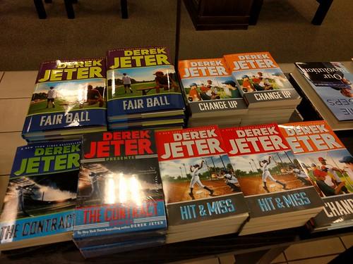 Derek Jeter the author