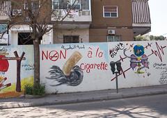 Campain against the cigarette, Nabatiyeh Governorate, Nabatiyeh, Lebanon