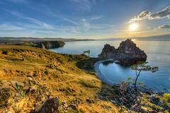 Rocher du Chaman, Lac Baïkal
