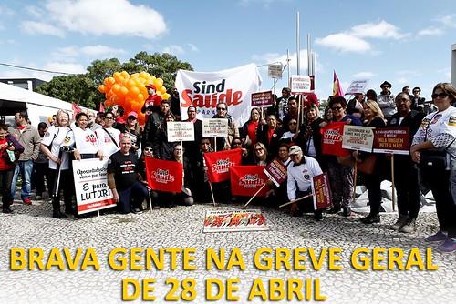 Brava gente na greve geral do dia 28 e assembleia da categoria