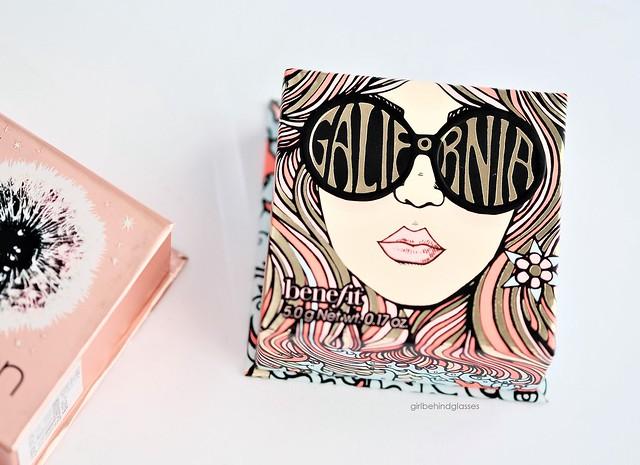 Benefit Cosmetics GALifornia Blush3