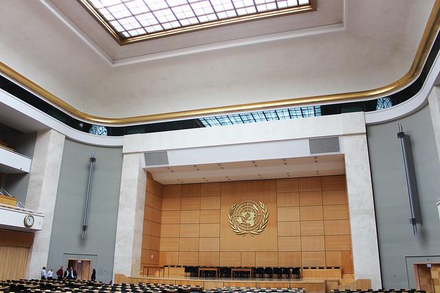 salle des assemblées ONU