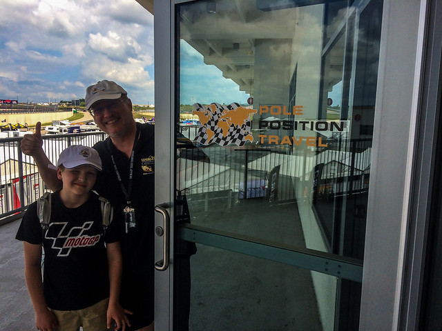 Alex and Gordon check out the new VIP suite