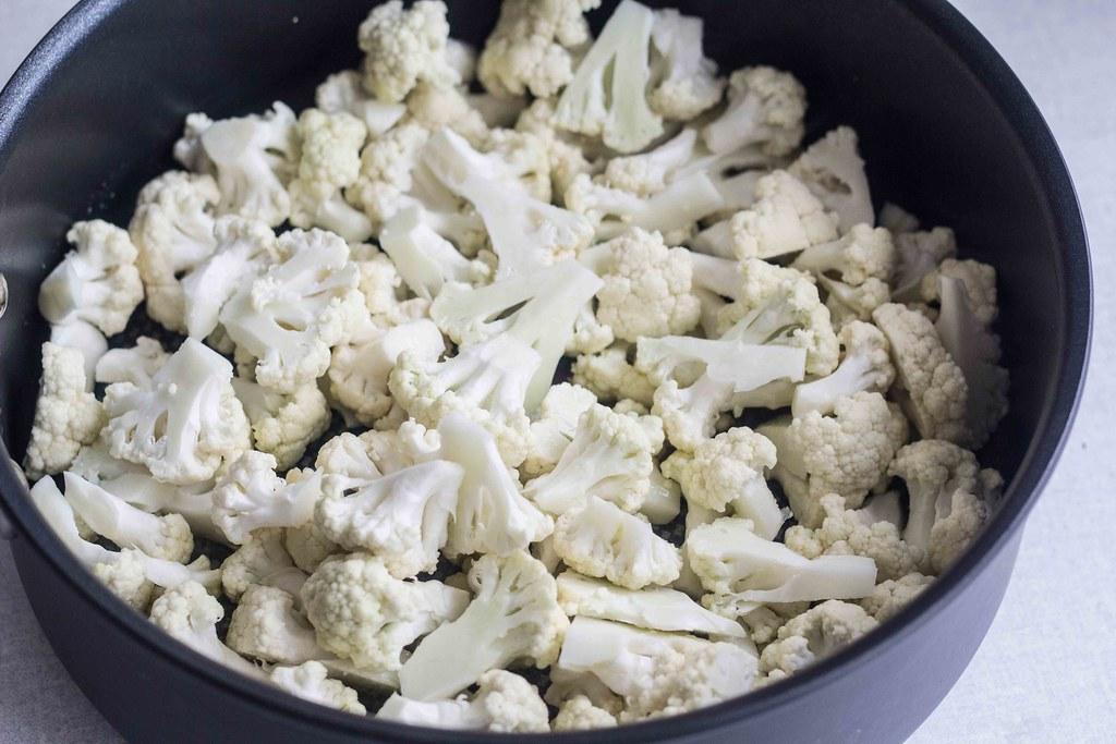 Risfrikadeller med lun blomkålssalat - Uncle Bens (4)