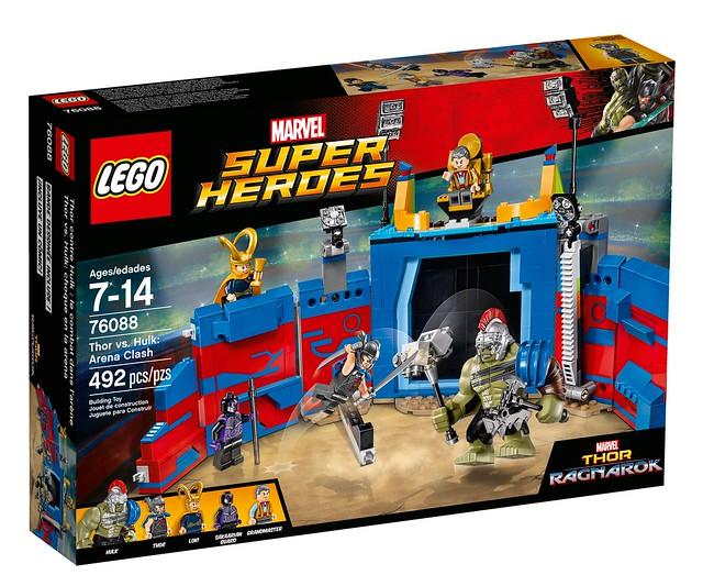 76088 Thor vs Hulk Arena Clash 1