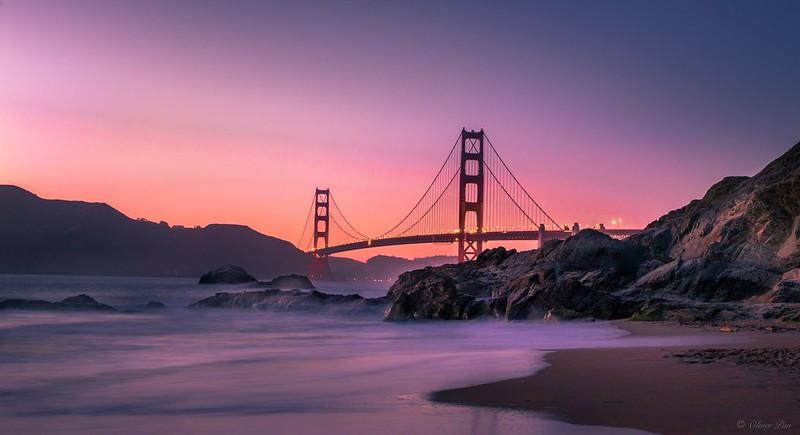 Golden Gate Bridge - Baker Beach