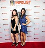 Red carpet for #infolist's pre-#cannes2017 event w/fellow tall drink of #asian water @ariaxsong :heart:️:two_women_holding_hands:    #asianactress #chinese #chineseamerican #abc #fashion #style #ootn #hollywood #losangeles
