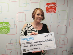 Holly Santamaria - $5,000 - Big Money - Kooskia - Clearwater Valley Harvest Foods